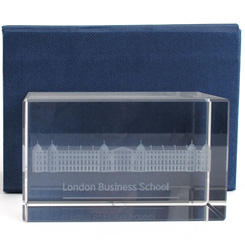 Crystal Paperweight – Ratcliffe Building